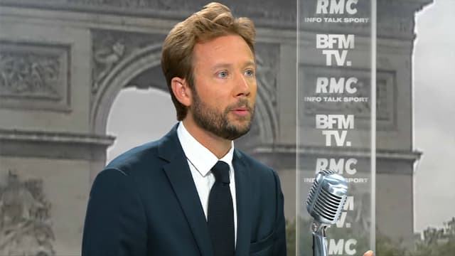 Boris Vallaud était l'invité de RMC/BFMTV mardi 25 juillet.