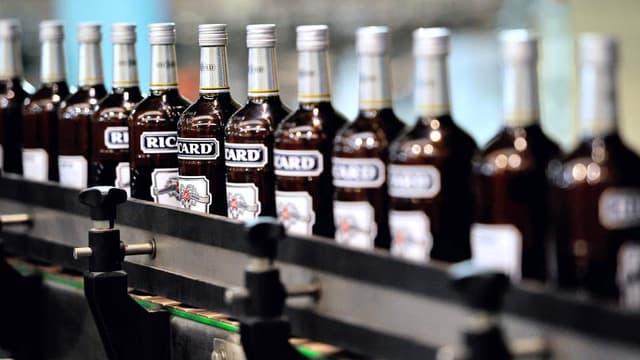 Pernod Ricard compte supprimer moins de 100 postes en France