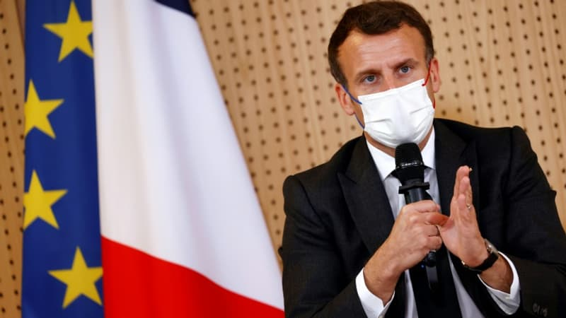 Emmanuel Macron dans l'Aube pour la reprise des activités sportives