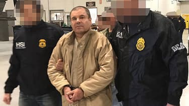 El Chapo à Ciudad Juarez au Mexique, en janvier 2017