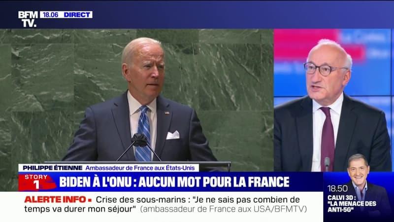 """Philippe Étienne, ambassadeur de France aux États-Unis: """"La question c'est comment on essaye de se réengager"""""""