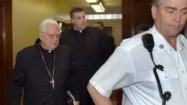 Le cardinal Law avait été contraint de démissionner après la révélation de ce scandale.