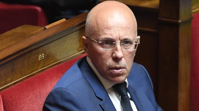 Eric Ciotti sur les bancs de l'Assemblée nationale, le 16 juillet 2019