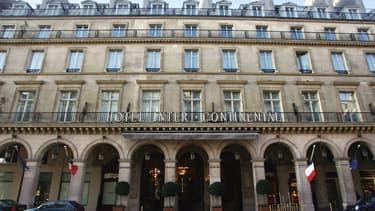 L'hôtel Intercontinental fait partie des possessions parisiennes.