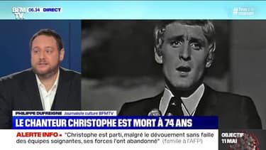 Ce que l'on sait des trois semaines d'hospitalisation de Christophe avant sa mort