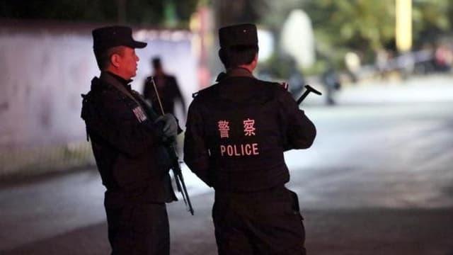La police chinoise. Photo d'illustration