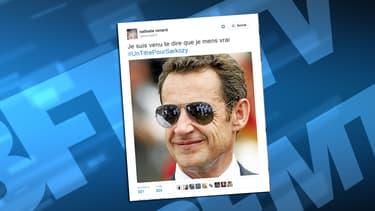 Sur Twitter, les internautes ont moqué le titre du nouveau livre de Nicolas Sarkozy.
