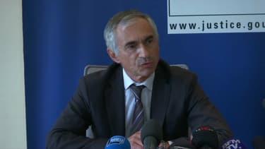 Xavier Tarabeux, procureur de la République de Marseille