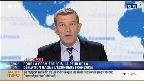 L'Édito éco de Nicolas Doze: Economie française: faut-il s'inquiéter de la baisse des prix? - 12/12