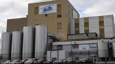 L'usine Lactalis en cause à Craon (Mayenne) est actuellement à l'arrêt et les salariés au chômage partiel.
