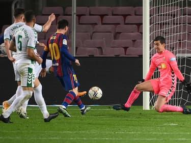 Lionel Messi face à Elche