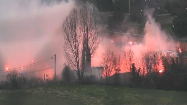 Le centre d'entraînement de l'OM attaqué par des supporters