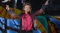 Mick Jagger, le leader des Rolling Stones, lors d'un concert à Cuba le 25 mars 2016