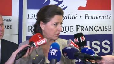 La ministre la Santé, Agnès Buzyn, fait un point de situation sur le coronavirus en France