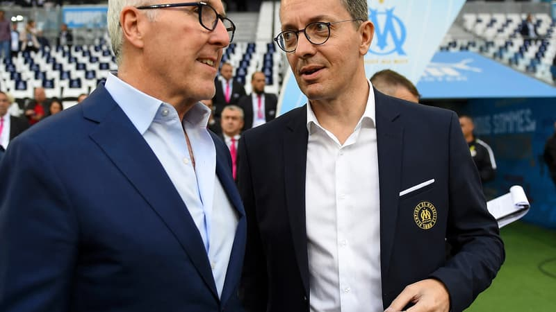 "OM: McCourt et Eyraud regrettent l'appellation ""Champions Project"""