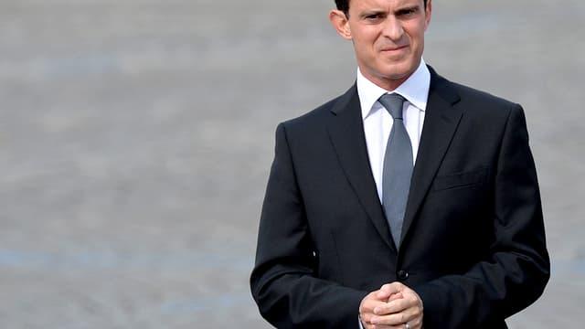 Manuel Valls à Paris le 3 juillet.