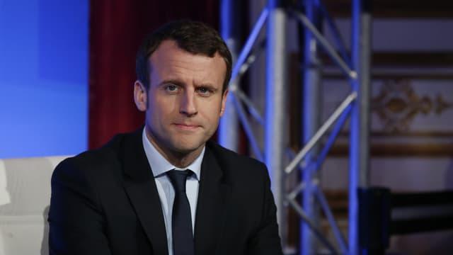 Emmanuel Macron, le 14 mars 2016.