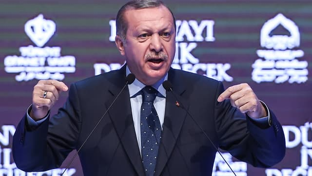 Recep Tayyip Erdogan, le 12 mars 2017.