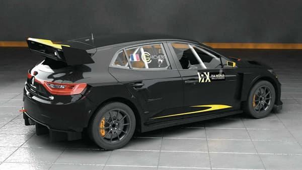 La Mégane RX devrait avoisiner les 600 chevaux, soit le double de la puissance attendue sur la nouvelle Mégane 4 RS.