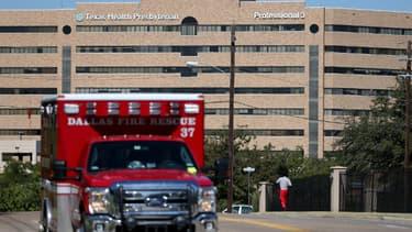L'hôpital Texas Health Presbyterian où la patiente a contracté le virus Ebola.