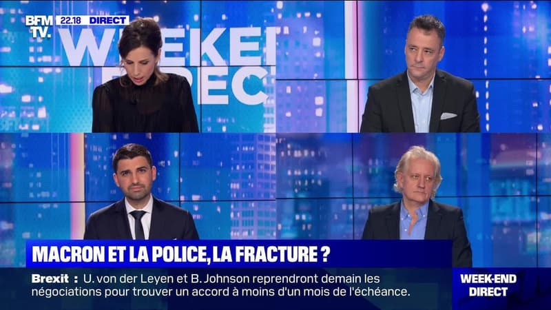 Emmanuel Macron et la police, la fracture ? - 05/12