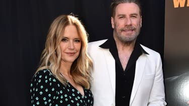 Kelly Preston et John Travolta en juin 2018