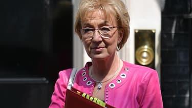 Andrea Leadsom, ministre britannique chargée des relations avec le Parlement