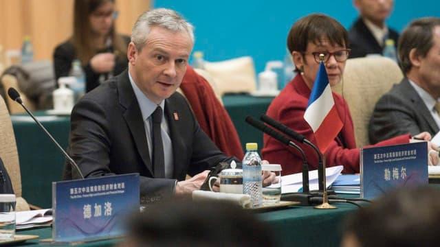 Bruno Le Maire demande à ce que les investissements chinois en France ne créé pas d'inquiétude