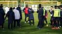 Le premier entraînement de Domenech à Nantes