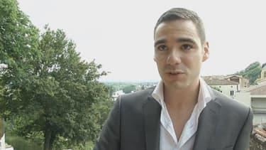 """Etienne Bousquet-Cassagne, candidat du FN à la législative de Villeneuve-sur-Lot, compte la famille Le Pen comme """"une référence""""."""