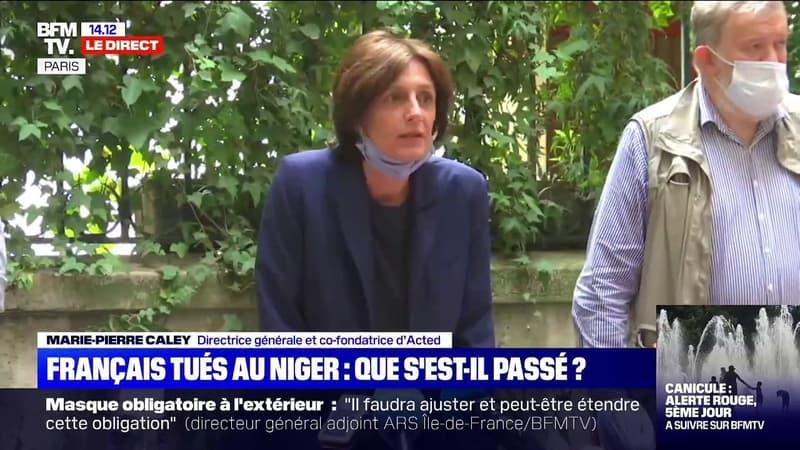 """Directrice générale d'Acted sur les Français tués au Niger: """"C'est un drame sans précédent pour Acted. C'est un acte barbare, révoltant"""""""
