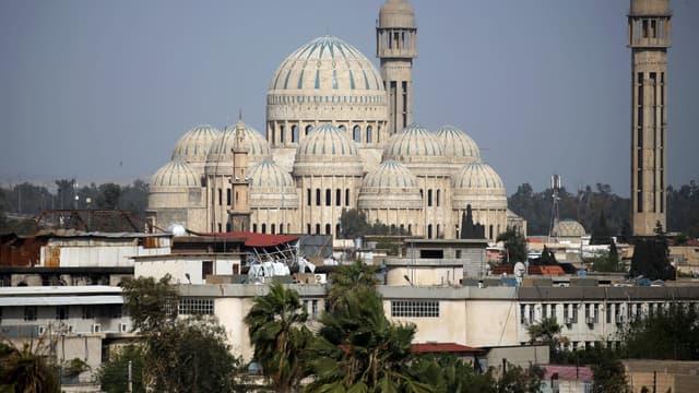 La grande mosquée de Mossoul, en Irak.