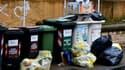 Des poubelles à Rome