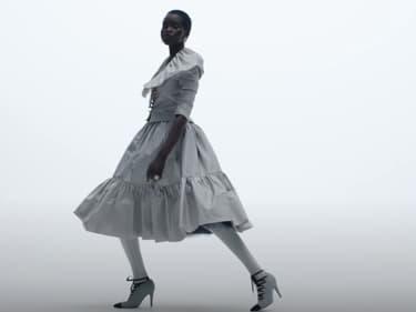 Un extrait de la vidéo présentant la collection Haute Couture Automne-Hiver 2020/21 de Chanel
