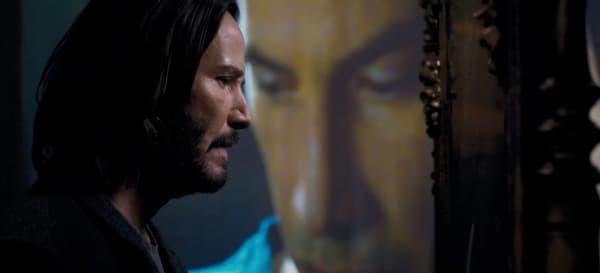 """Keanu Reeves dans """"Matrix Resurrections"""""""
