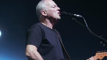 David Gilmour, en concert à Paris en 2006.
