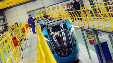 La commande des 32 rames Dualis d'Alstom est en réalité la levée d'une option d'achat. (image d'illustration)