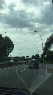 Autobus en feu à Orly - Témoins BFMTV