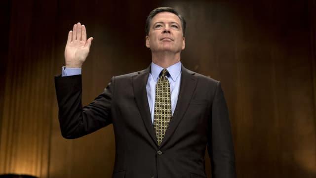 L'ancien directeur du FBI, James Comey, le 3 mai 2017