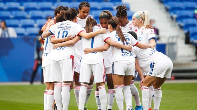 Ligues des champions: Les Lyonnaises après leur victoire face à Brondby