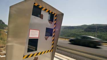 Image d'illustration. Une cabine de radar automatique.