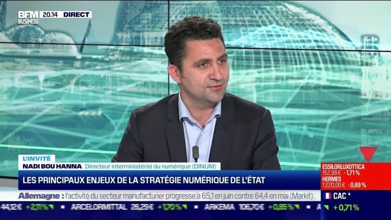 Nadi Bou Hanna (DINUM) : Les principaux enjeux de la stratégie numérique de l'État - 01/07