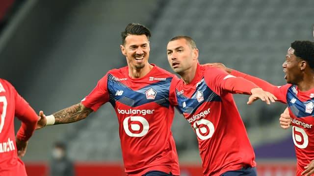 Yilmaz et Fonte lors de Lille-Nice