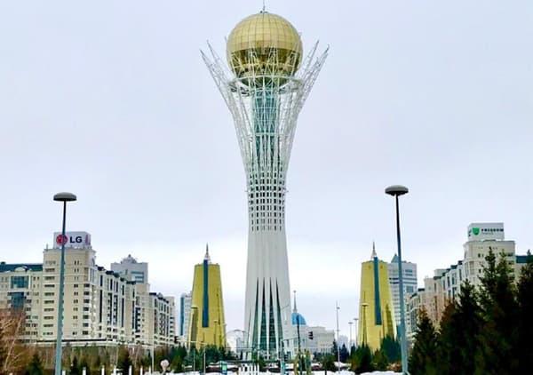 Le Bayterek (Kazakhstan)
