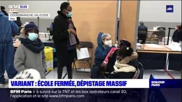 Val-d'Oise: une école fermée après détection d'un cas de variant britannique