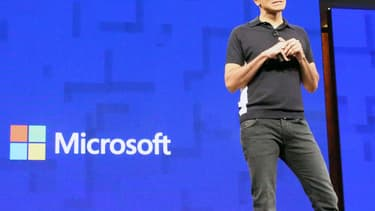 Le cloud était la priorité du PDG de Microsoft Satya Nadella.