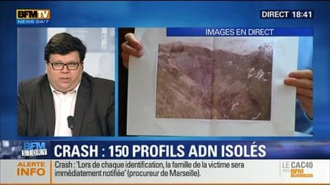 Crash de l'A320 (5/5): 150 profils ADN ont été isolés