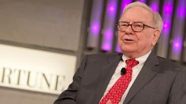 Warren Buffett a dû justifier les performances financières en berne pour sa société.