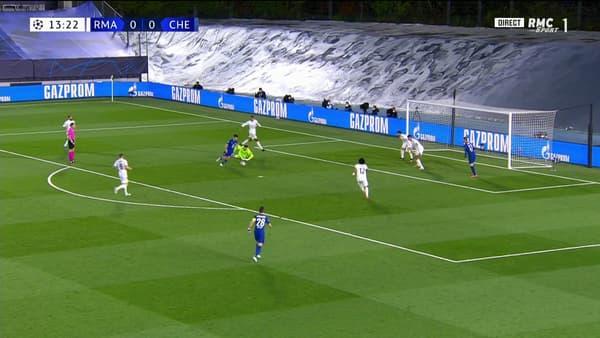 Pulisic ouvre le score pour Chelsea face au Real