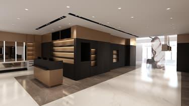 Le nouvel espace de luxe sera situé au deuxième étage du magasin.
